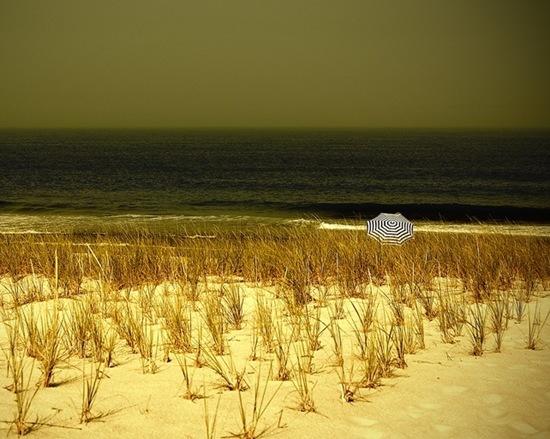 umbrella-on-the-shore