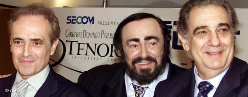 Pavarotti-Carreras-PlacidoDomingo